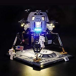 LIGHTAILING Set di Luci per (Creator NASA Apollo 11) Modello da Costruire - Kit Luce LED Compatibile con Lego 10266 (Non… 0716852281237 LEGO