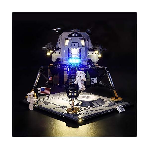 LIGHTAILING Set di Luci per (Creator NASA Apollo 11) Modello da Costruire - Kit Luce LED Compatibile con Lego 10266 (Non… 1 spesavip