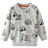 Little Hand Baby Jungen Sweatshirt Kinder Warme Pullover Streetwear Oberbekleidung 1-7 Jahre