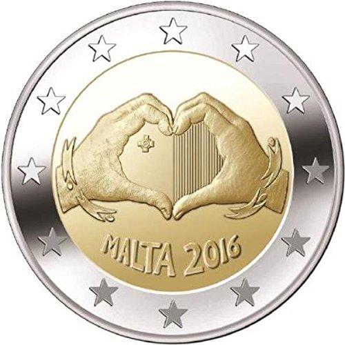 2-euro-malta-2016-liebe-serie-von-kindern-mit-solidaritat-unc