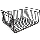 Uspech Under Shelf Organizer Basket for Kitchen Cupboard/Almirah - 16 inch (Black)