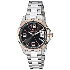 Invicta 0090 II Collection Sport Day Reloj de Acero Inoxidable para Mujer