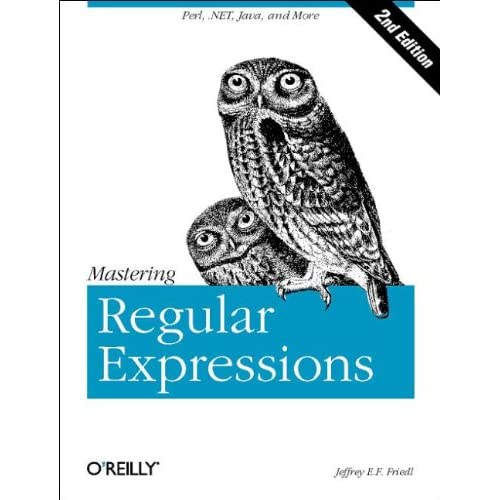 Mastering Regular Expressions. 2nd Edition