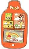 Disney - Organizador de coche Winnie, organizador de coche infantil, organizador de juguetes para coche.