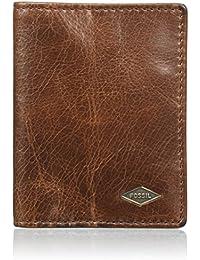 Fossil Ryan, Men's Wallet, Braun (Dark Brown), 1.9x10.199999999999999x7.6 cm (B x H T)