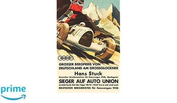 Blechschild Auto Grossglockner Grosser Preis Metallschild Deko 20x30 tin sign
