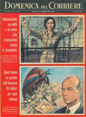 Testimonianza dell'italiano che amo' l'eroina di Auschwitz. - Guido Carli governatore della Banca d'Italia.