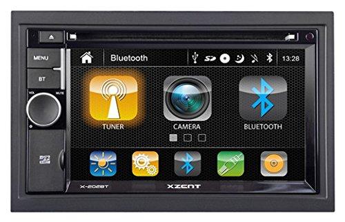 XZENT X202BT MK2 2-Din Moniceiver mit Bluetooth - X-202BT-MK2