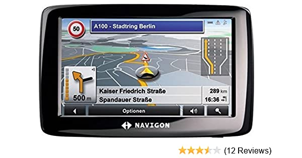 Navigon 2110 MAX Full Europe (38 Countries) Satellite Navigation System