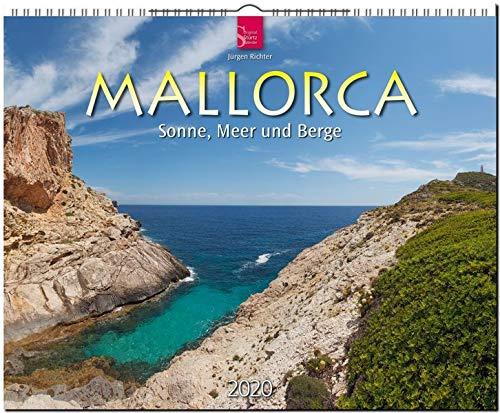 Mallorca - Sonne, Meer und Berge: Original Stürtz-Kalender 2020 - Großformat-Kalender 60 x 48 cm