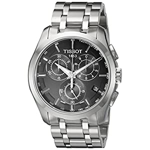 Tissot Couturier Chrono – Reloj (Reloj de pulsera, Masculino, Acero