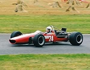 Tapis de souris avec jack Brabham dans un McLaren M5à Goodwood