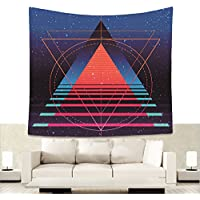 Visionarios Escalera Paso pared Alfombra Universo Espacio Fondo Pared Tapiz adornos Mental Yoga Meditación pared techo