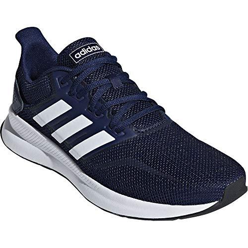 adidas RUNFALCON Herren Sneakers Schuhe aus blauem Canvas F36201 - Adidas Canvas Schuhe