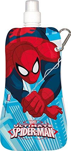 Trinkflasche faltbar * Spiderman * 480 ml Feldflasche