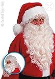 CARNIVAL TOYS 2369–Père Noël Santa Claus perruque et la barbe