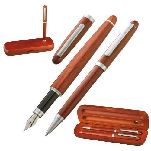 elegant-wooden-writing-set-including-fountain-pen-and-gm-it-ballpoint-pen
