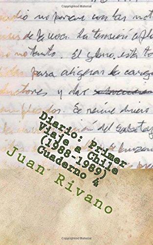 Diario: Primer Viaje a Chile (1988-1989). Cuaderno 4