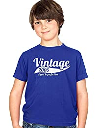 Vintage 2006 10th Birthday Present Party Gift - Childs Kids Tee Boys and Girls T-Shirt - Different Colours Available