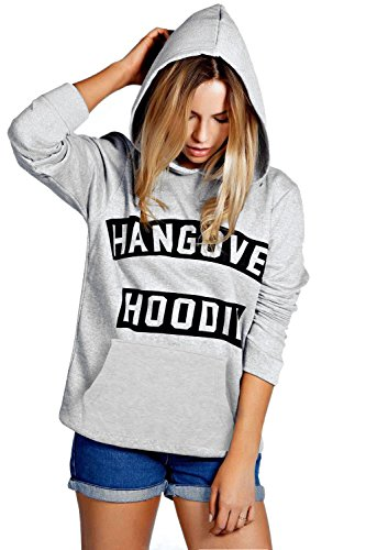 Amberclothing New Girls Ladies Hangover Hoodies Print Long Sleeve Ladies Top Neon Sweatshirt Size S - 5XL