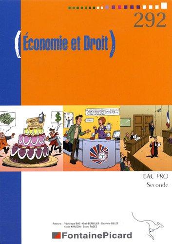 Economie et Droit 2e Bac pro
