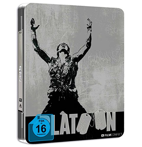 Platoon (Steel Edition) (Geprägtes Cover) [Blu-ray]