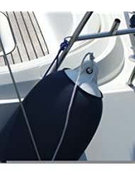 Funda para boya (diámetro: 15- 21 cm, 5 m para cortar, para aprox. 5-6 boyas) azul azul marino
