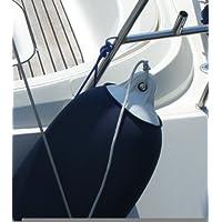 Funda para boya (diámetro: 22- 27 cm, 5 m para cortar, para aprox. 5-6 boyas) azul azul marino