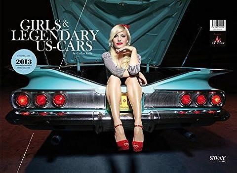 Girls & legendary US-Cars 2013: Wochenkalender