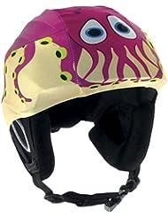REDHOT Ski Helmcover Octopus Lycra Covering, 3174