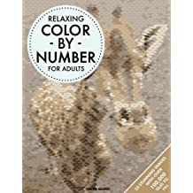 Relaxing Color By Number For Adults by Clarity Media (2016-07-21)