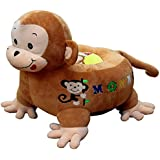 4d3fcacbe36b SANA Imported Kids Chairs Premium Quality Soft Toy Chair/seat for Kids ( Monkey-