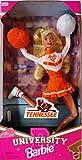 University Barbie Tennessee Cheerleader Doll