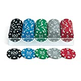 Juego Ju00123 Poker Standard 100 Chips/Fiches da 14 gr. Set B