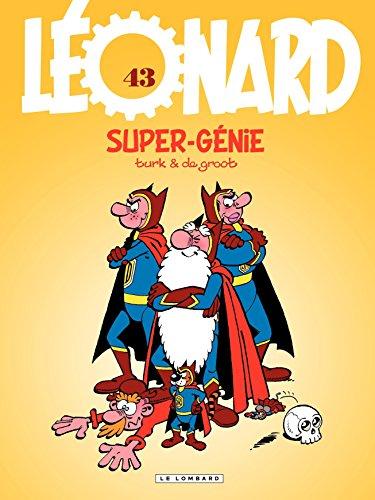 Livres Léonard - tome 43 - Super-génie epub pdf