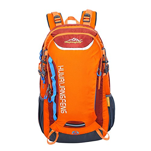 Impermeabile borsa a tracolla zaino Outdoor escursioni a piedi per 40 litri borsa , orange Orange