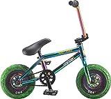 Rocker 3+ Crazymain Jet Fuel Freecoaster Mini BMX Bike (Neochrome)