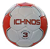 Ichnos Handball match ball adult official size 3 white orange