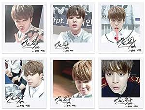 BTS bangtan boys fancafe jimin self wide polaroid photo set