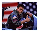 worldphotographs Top Gun (1986) Tom Cruise Maverick 10x8 Photo