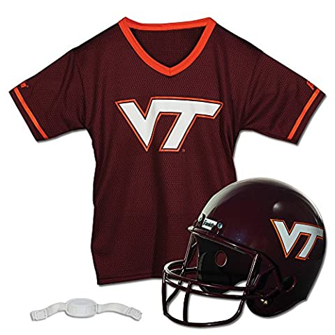Franklin Sports NCAA Virginia Tech Hokies Helmet and Jersey