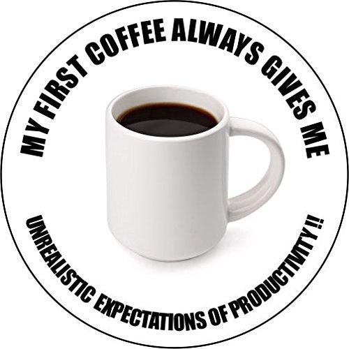 My First Coffee Untersetzer (Coast. 57)