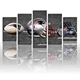 Karen Max Wandbild, Motiv: New England Patriots Fußball,