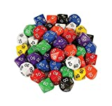 D10 Dice 10 Face 00-90 (Pack of 10)