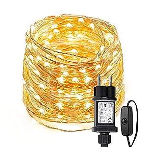 LE 10m 100 LED Luces