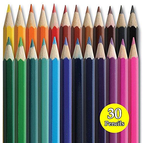 ungiftig Buntstifte mit Super Verblenden Pigmenten für Bleistifte Kinder Kinder Schule Kunst-Crafts...