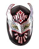 CENO Maschera da Wrestling messicano High-Flyer, nero, Luchador Lucha Libre