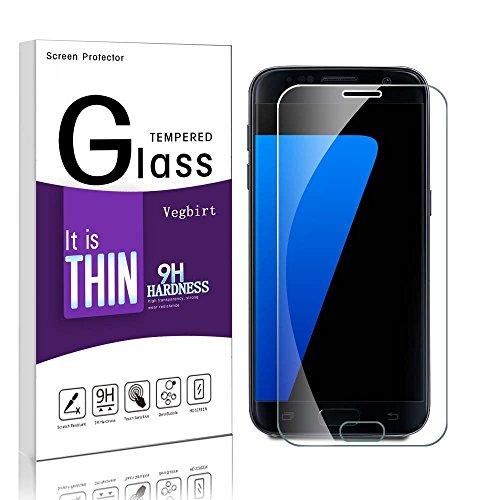 Galaxy S7 Protection d' Écran, Verre Trempé Galaxy S7, Protection d' Écran en Verre Trempé Vitre Anti-rayure pour Samsung Galaxy S7 (clear)