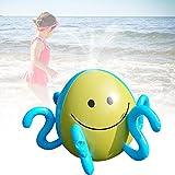 Starter Acqua Ball Starter Sprinkler, gonfiabile Spray Octopus Bambini che giocano all'aperto per giocare in spiaggia Giochi acquatici del prato.