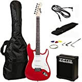 RockJam RJEG02-SK-RD Electric Guitar Starter Kit (Red)